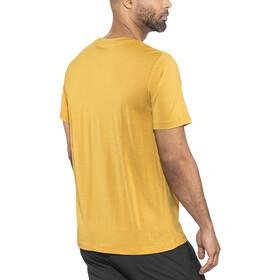 Bergans Oslo Wool - Camiseta manga corta Hombre - amarillo